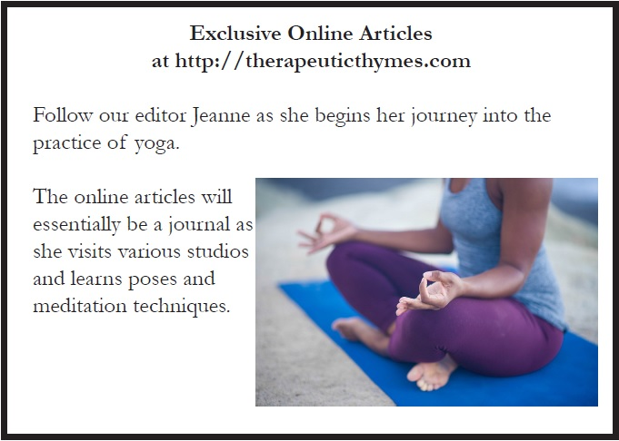 Web Exclusive: Yoga Journey