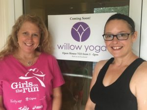 Monica Kirchner and Leah Margerum are set to welcome you at Willow Yoga. (Photo by Taylor Miles)